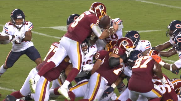 Redskins' comeback halted by Keenum's fumble