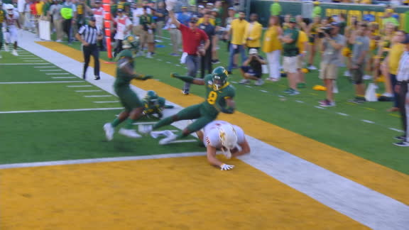 Kolar dives into end zone to put Iowa State on top