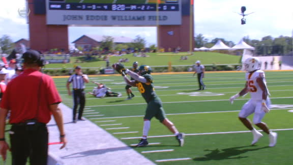 Baylor's Williams makes incredible interception