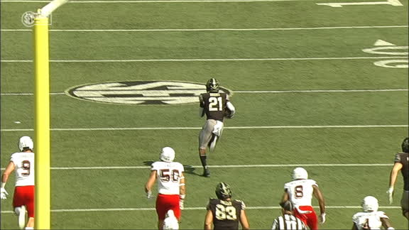 Brooks breaks free for 61-yard Vandy TD