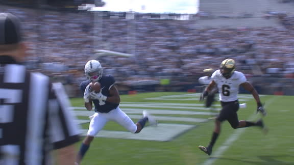 Clifford connects with Hamler for 23-yard Penn State TD