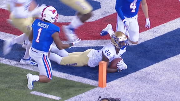 SMU's miscues lead to Tulsa TD on kick return