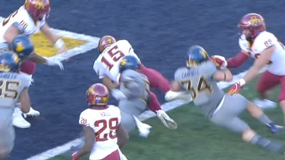 Purdy dives for TD to give Iowa State the lead