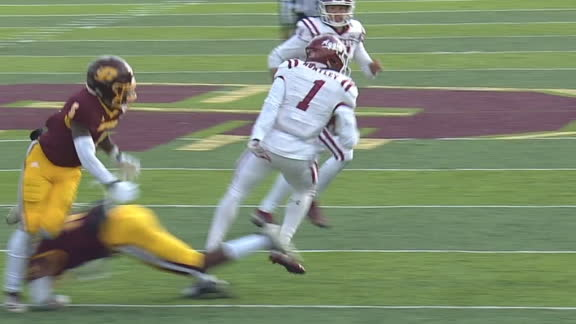 New Mexico State RB goes double spin-o-rama on TD