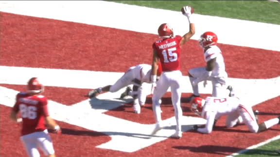 Westbrook barrels into end zone for Indiana TD