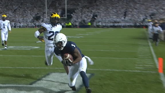 Penn State turns INT into TD