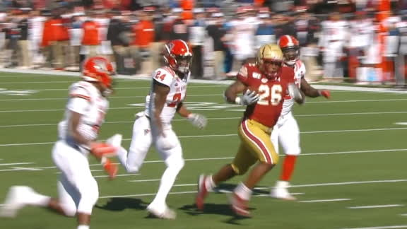 Bailey bursts through NC State defenders for 54-yard TD