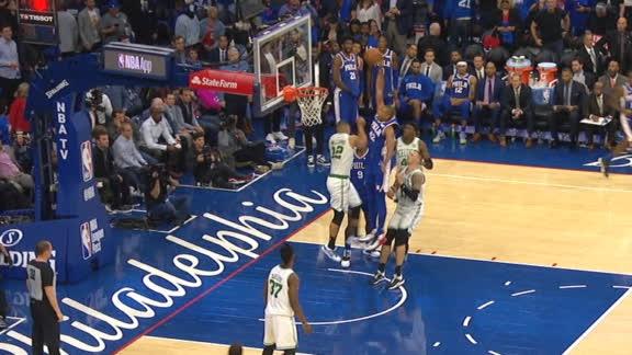 Horford dunks all over Celtics