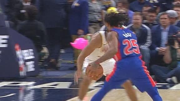 Rose crosses up defender