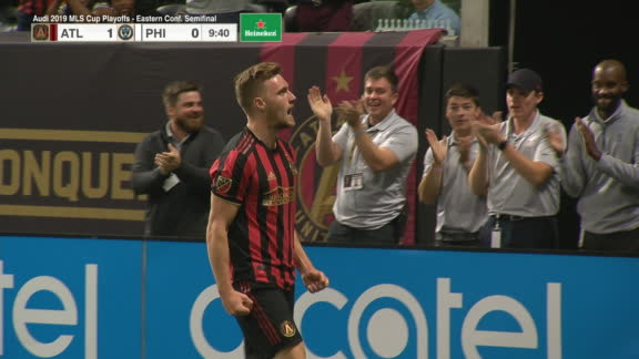 Gressel chips keeper to give Atlanta lead over Union