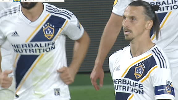 Zlatan gifted an equalizing goal by LAFC's Miller