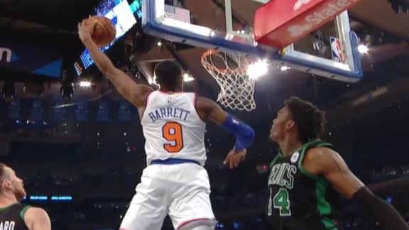 Barrett throws down powerful baseline jam