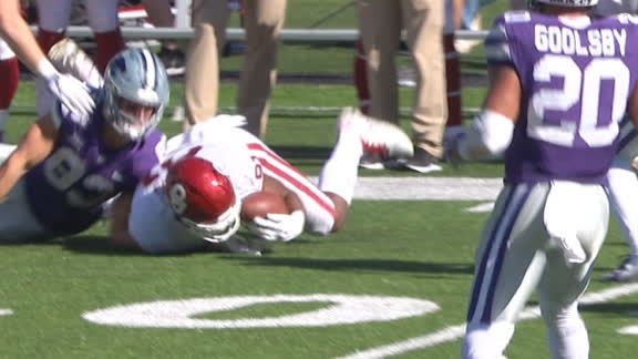 Oklahoma's onside kick recovery reversed