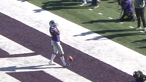 Gilbert helps add to Kansas State's lead with TD