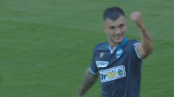 Jasmin Kurtic equalizes for SPAL against Napoli