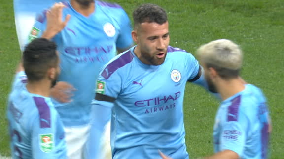 Otamendi heads Man City into the lead