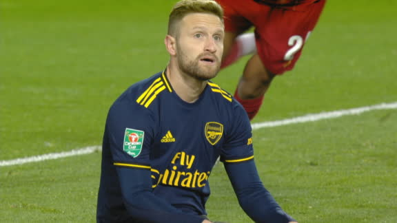 Mustafi's shocking own goal gifts Liverpool the lead