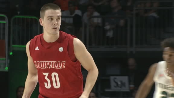 Louisville's McMahon drains back-to-back 3-pointers