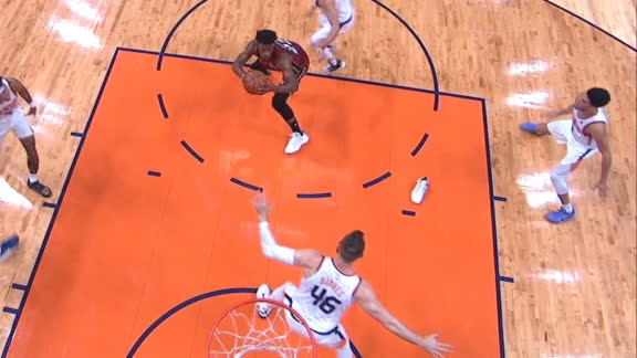 Butler only needs 1 shoe for and-1 bucket