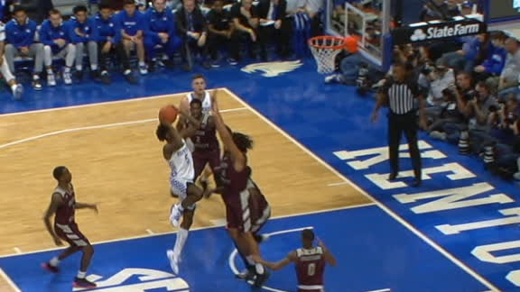 Quickley goes coast-to-coast for Kentucky bucket
