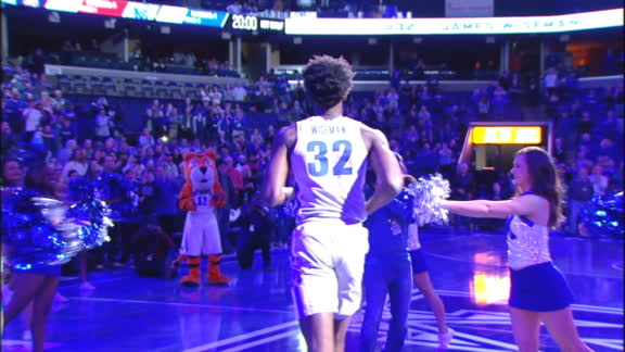 Wiseman receives standing ovation from Memphis crowd