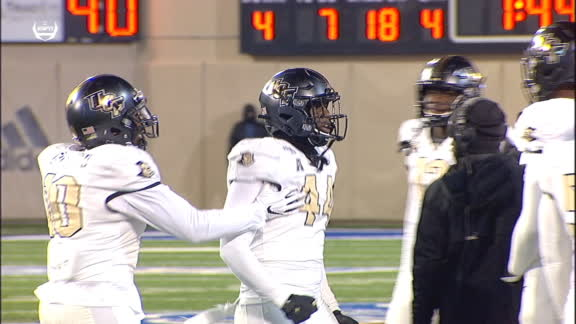 Things get heated between UCF teammates