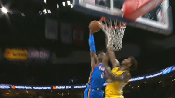 Diallo dunks all over Chriss