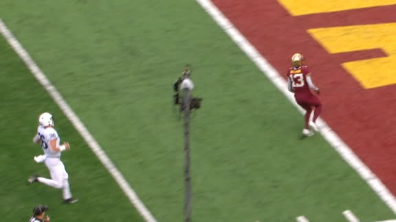Minnesota strikes first with 66-yard TD