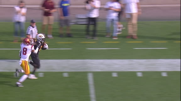 Aiyuk's 97-yard kick return sets up ASU's TD