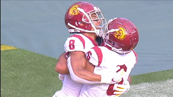 USC gets 95-yard score for 4th TD of 1st quarter