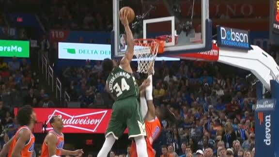 Giannis puts Noel on a poster
