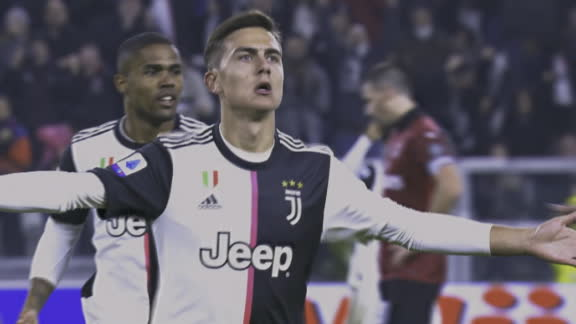 Dybala breaks the deadlock in Juventus vs. Milan