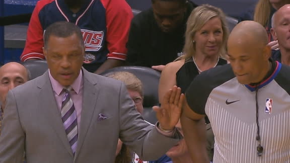 Coach Gentry gets technical for interference