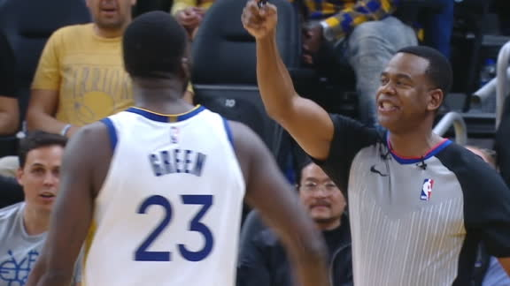 Draymond gets tossed in the fourth