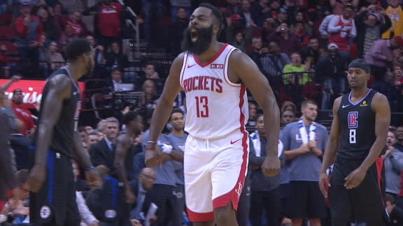 Harden fired up after clutch 3