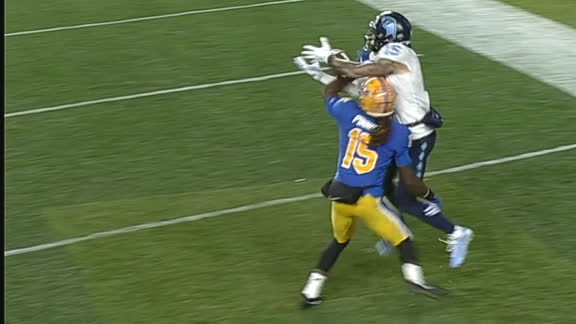 UNC's Corrales Mosses defender for TD