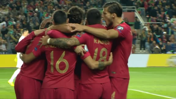 Ronaldo converts penalty to give Portugal lead