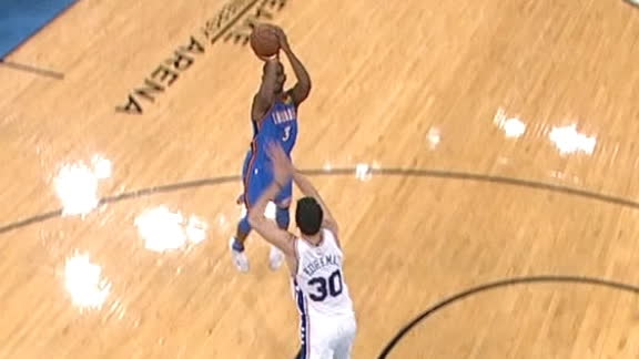 CP3 sinks mid-range jumper to extend Thunder lead in OT