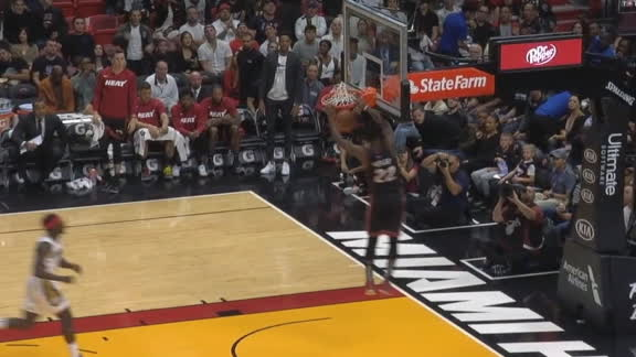 Butler doing it all for the Heat