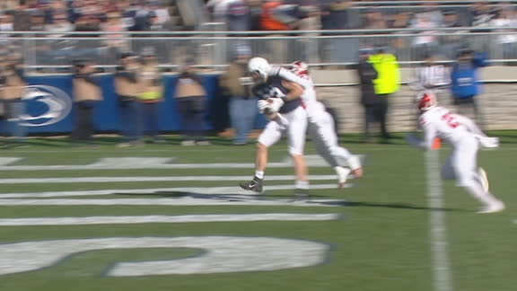 Clifford finds Bowers for the Penn State TD