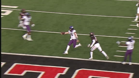 TCU strikes first on Duggan's TD run