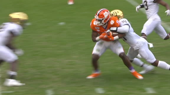 Etienne powers into end zone