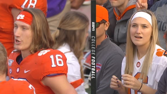 Lawrence look-alike attends Clemson game