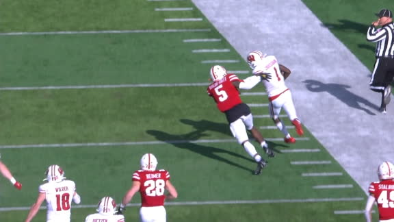Wisconsin takes kickoff 89 yards to the house