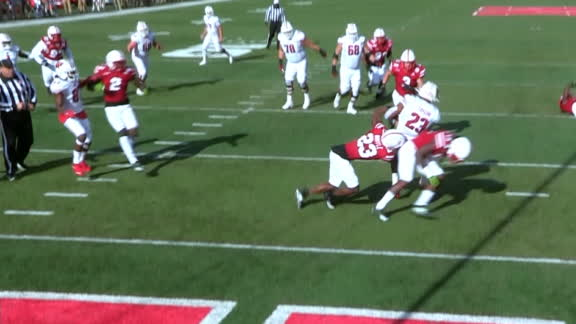 Taylor spins his way into the end zone