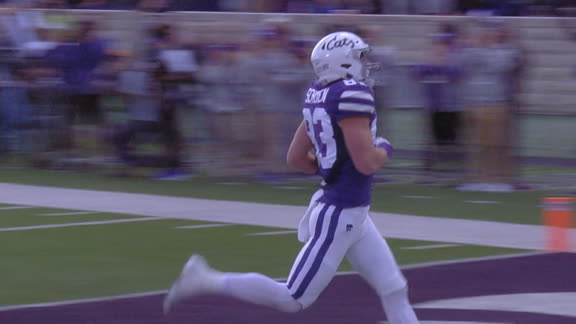 Thompson finds Schoen wide open for 68-yard TD