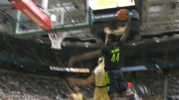 Michigan State bench loves Brown's big jam