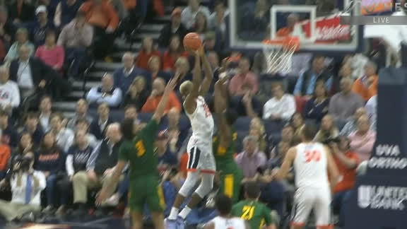 Diakite finesses his way to the rim for the bucket