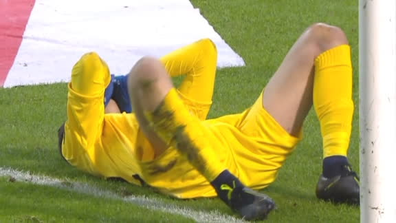 Cyprus goalkeeper commits shocking howler on his debut