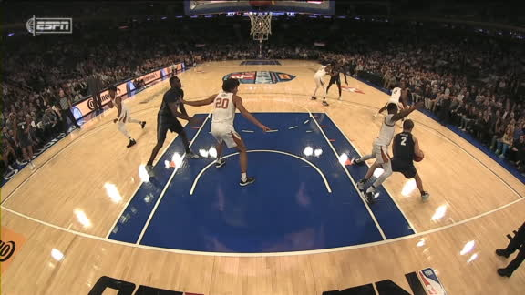 McClung shows off his moves for two
